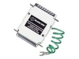 Black Box RS-232 Surge Protector, DB-25, 4-Wire Serial, SP141A, 32877229, Surge Suppressors