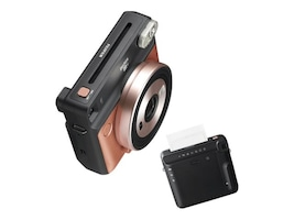 Fujifilm instax SQUARE SQ6 Instant Film Camera, Blush Gold, 16581460, 35675438, Cameras - Film
