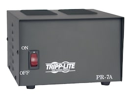 Tripp Lite 7-Amp DC Power Supply 120VAC Input to 13.8VDC Output, PR7, 5439910, AC Power Adapters (external)