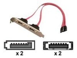 Addonics 2-Port Esata PCI Bracket, AASATAB2-E, 6263813, Motherboard Expansion