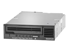 Quantum LTO-6 HH SAS 6Gb s Model C 5.25 Internal Tape Drive - Black w  SAS HBA, TC-L62AN-EZ-C, 17350242, Tape Drives