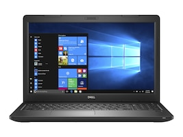 Dell Latitude 3580 Core i3-7100U 2.3GHz 4GB 500GB ac BT 15.6 HD W10P64, XN8KF, 33841199, Notebooks