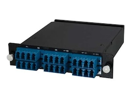 C2G Q-Series 24-Strand MTP MPO-LC SM RFP Module, 77573, 23730321, Network Device Modules & Accessories