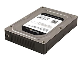 "StarTech.com Dual-Bay 2.5"" to 3.5"" SATA Hard Drive Adapter Enclosure w  RAID, 35SAT225S3R, 32491772, Hard Drive Enclosures - Multiple"