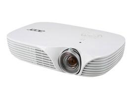 Acer K138ST WXGA DLP Portable Projector, 800 Lumens, White, MR.JLH11.00A, 30007001, Projectors