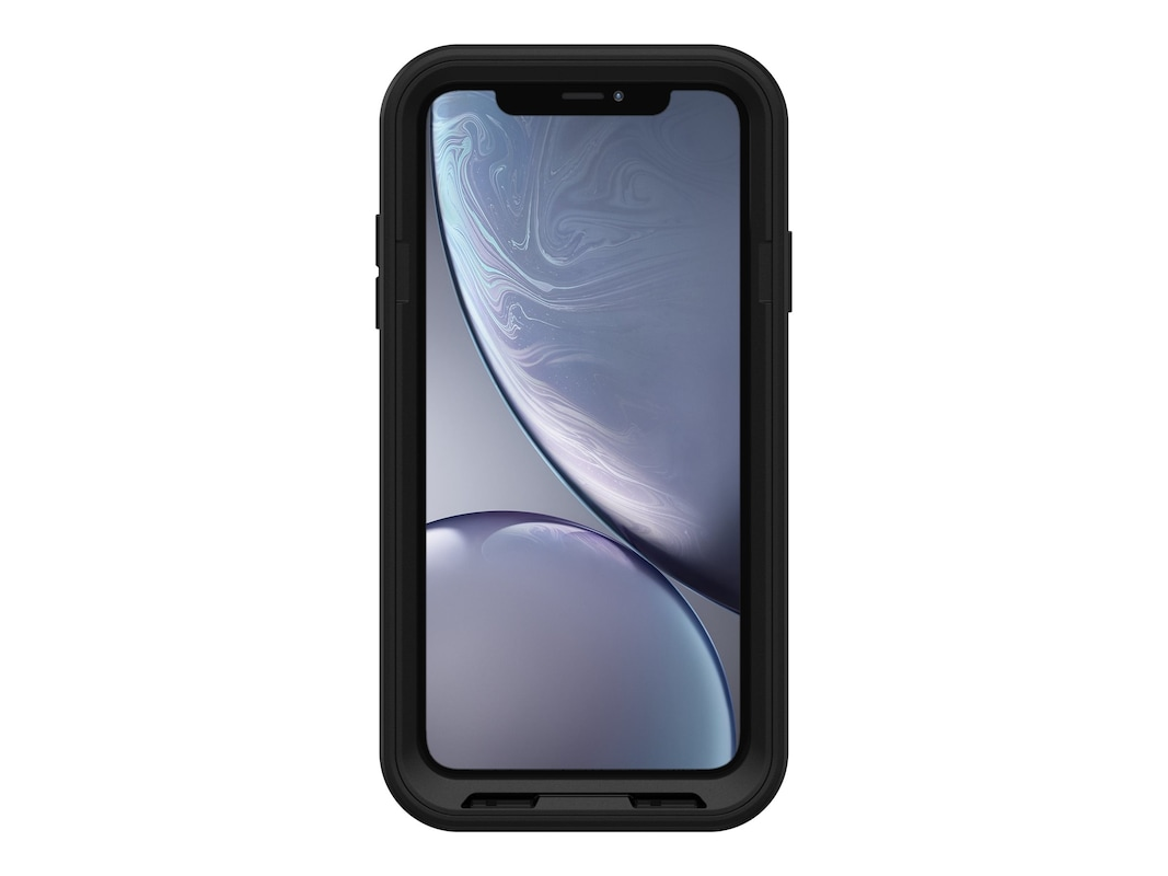cheap for discount 5b32c 15aa1 OtterBox Pursuit Black Case for iPhone XR (77-59906)