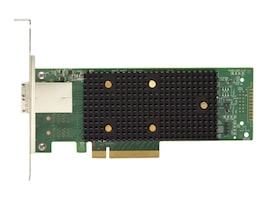Lenovo ThinkSystem 430-8e SAS SATA 12Gb HBA, 7Y37A01090, 34315844, Host Bus Adapters (HBAs)