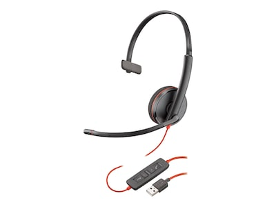Plantronics BlackWire C3210 USB-A Headset, 209744-22, 35237032, Headsets (w/ microphone)