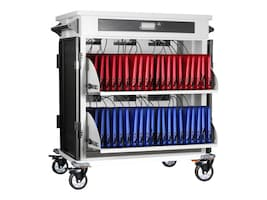 Anywhere Cart 40-Bay Adjustable Secure Charging Cart for Chromebooks, iPads, Tablets and Laptops up to 15, ACPROII, 31773583, Charging Stations