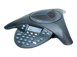Polycom SoundStation 2 Expandable Conference Phone, 2200-16200-001, 5568025, Audio/Video Conference Hardware