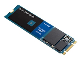 WD 250GB WD Blue SN500 NVMe PCIe Gen3 8Gb s x 2Lane M.2 2280 Internal Solid State Drive, WDS250G1B0C, 37601715, Solid State Drives - Internal