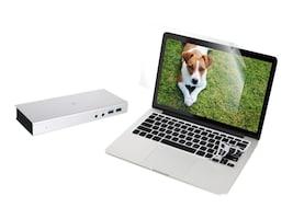 IOGEAR Bundle Thunderbolt 2 Docking Station with Keyboard Screen Protector for MacBook Pro 13, GTD720GKSMP13KIT, 34247335, Docking Stations & Port Replicators