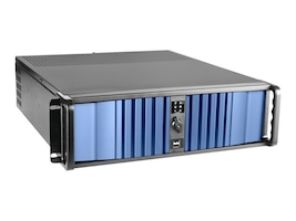 iStarUSA Chassis, D-300LSEA 3U 3x3.5 Bays (1xInternal) 4x5.25 Bays 1x750W PSU, Black, D-300LSEA-75S2UP8G, 33604847, Cases - Systems/Servers
