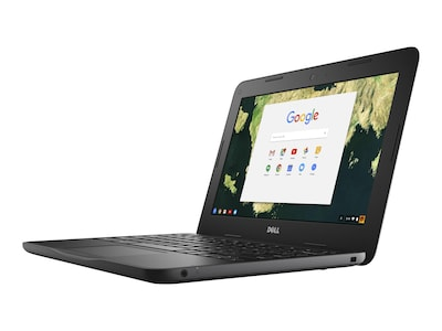Dell Chromebook 3180 Celeron N3060 1.6GHz 2GB 16GB SSD 11.6 HD Chrome OS, D44PV, 33763274, Notebooks