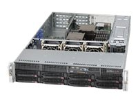 Supermicro CSE-825TQ-R740UB Main Image from Right-angle