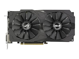 Asus ROG-STRIX-RX570-O4G-GAMING Main Image from Front