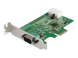 StarTech.com 1 Port RS232 Serial Adapter Card with 16950 UART - PCIe Card, PEX1S953LP, 36931350, Controller Cards & I/O Boards