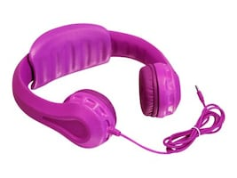 Aluratek Wired Foam Headphones for Kids, AKH01FP, 32226362, Headphones