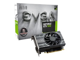 eVGA GeForce GTX 1050 PCIe 3.0 x16 Graphics Card, 2GB GDDR5, 02G-P4-6150-KR, 33062671, Graphics/Video Accelerators