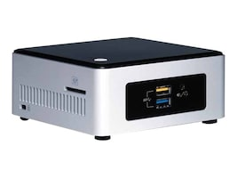 Intel Barebones, NUC5CPYH NUC Kit Celeron DC N3050 1.6GHz 1xSO-DIMM 1x2.5 bay ac BT GbE NoOS, BOXNUC5CPYH, 21647399, Barebones Systems