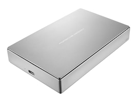 Lacie 4TB Porsche Design USB 3.1 Mobile Hard Drive, STFD4000402, 31814736, Hard Drives - External