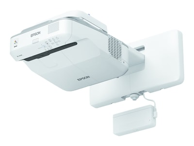 Epson BrightLink 695Wi WXGA 3LCD Projector, 3500 Lumens, White, V11H740522, 33566131, Projectors