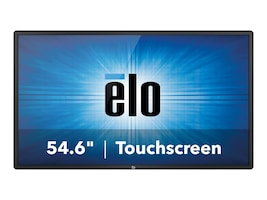 ELO Touch Solutions 54.6 5551L 4K Ultra HD LED-LCD Touchscreen Display, Black, E268447, 35071802, Monitors - Large Format - Touchscreen