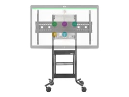 Avteq RPS-500 Height Adjustable AV Cart for 70? Cisco Spark Board, White, RPS-500-BB-CSB70W, 34387004, Stands & Mounts - AV