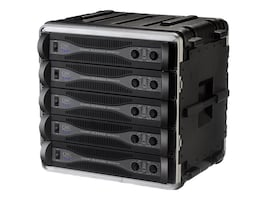 Samsonite 19 Standard Rack Case, 10U, 19 x 15 3 4 x 17.5, 1SKB19-10U, 5747429, Carrying Cases - Other