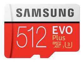 Samsung 512GB EVO PLUS MEMORY CARD, MB-MC512HA/AM, 41054677, Memory - Flash