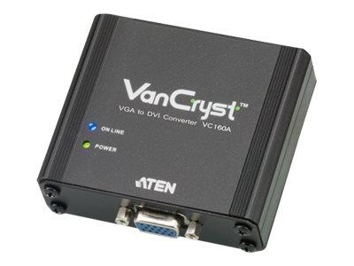 Aten VGA to DVI Converter, VC160A, 14977808, Video Extenders & Splitters