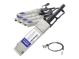 ACP-EP Memory QSFP-4SFP-PDAC50CM-AO Main Image from Front