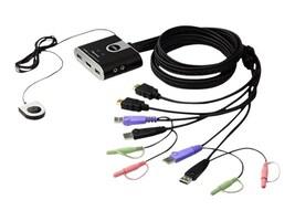 Aten 2-Port HD USB Cable KVM, Video Dynasync, CS692, 13619224, KVM Switches