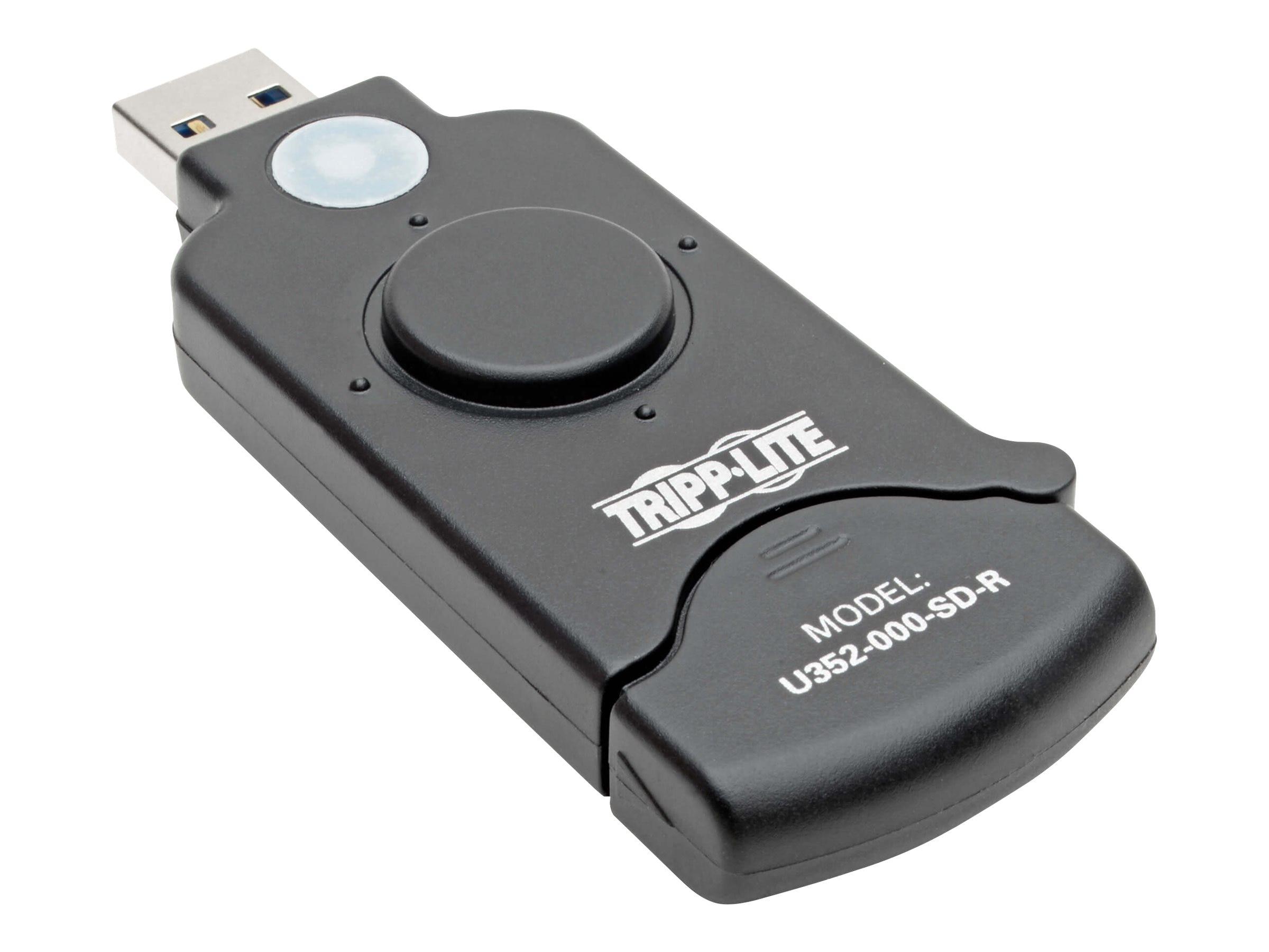 58847add7 Tripp Lite USB 3.0 Super Speed SDXC Card Reader (U352-000-SD-R)