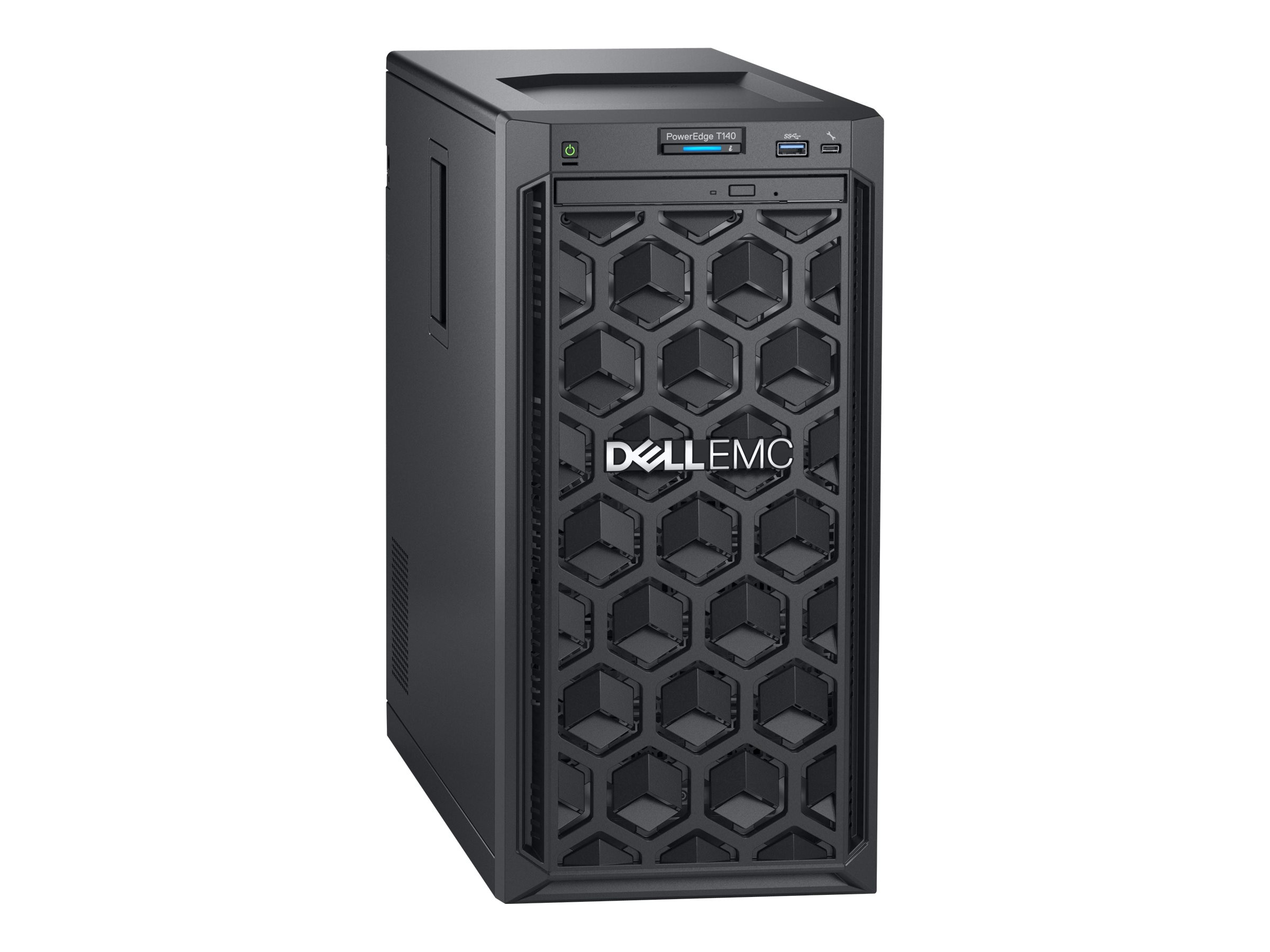 Dell PowerEdge T140 Tower Xeon QC E-2124 3 3GHz 8GB 1TB 4x3 5
