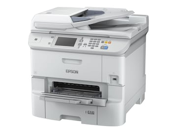 Epson WorkForce Pro WF-6590 Network Multifunction Color Printer, C11CD49201NA, 34196355, MultiFunction - Ink-Jet
