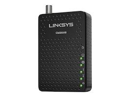 Linksys CM3008 8x4 DOCSIS 3.0 Cable Modem, CM3008, 32405951, DSL/Cable Modems