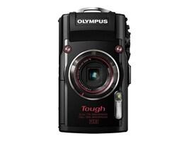 Olympus Stylus TOUGH TG-4 Digital Camera, 16MP, 4x Zoom, Black, V104160BU000, 19857961, Cameras - Digital - Point & Shoot