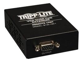 Tripp Lite VGA over Cat5 Cat6 Extender, Receiver, 1920x1440 at 60Hz, TAA, GSA, B132-100-1, 12565754, Video Extenders & Splitters