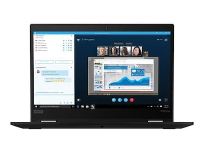 Lenovo ThinkPad x390 Yoga Core i7-8565U 1.8GHz 8GB 256GB PCIe ac BT FR WC 13.3 FHD MT W10P64, 20NN0011US, 36810460, Notebooks - Convertible