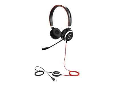 Jabra Evolve 40 UC Stereo Headset, 6399-829-209, 17917405, Headsets (w/ microphone)