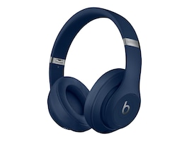 Apple Beats Studio3 Wireless Over-Ear Headphones - Blue, MX402LL/A, 38339608, Headsets (w/ microphone)