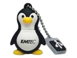 Emtec 4GB Penguin USB 2.0 Flash Drive, EKMMD4GM314, 13863391, Flash Drives