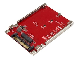 StarTech.com M.2 Drive to U.2 (SFF-8639) Host Adapter for M.2 PCIe NVMe SSDs, U2M2E125, 34278422, Drive Mounting Hardware