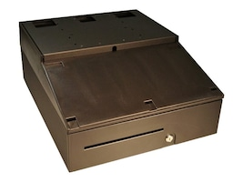APG Cash Drawer INT484A-BL16195-F Main Image from Left-angle