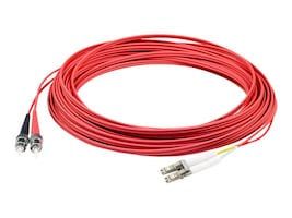 AddOn 6M LC/ST M/M OM1 RED FIBER PAT Main Image from Front