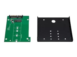 Syba M.2 (NGFF) Solid State Drive to 2.5 SATA 6Gb s Adapter, SY-ADA40086, 34152230, Drive Mounting Hardware