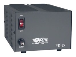 Tripp Lite 15-Amp DC Power Supply 120VAC Input to 13.8VDC Output, PR15, 5448365, AC Power Adapters (external)