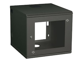Black Box 6U Wallmount Cabinet with 220 240V Fan Unit, RM2411AE, 32728311, Racks & Cabinets