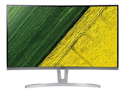 Acer 31.5 ED323QUR widpx LED-LCD Curved Monitor, White, UM.JE3AA.001, 36632173, Monitors